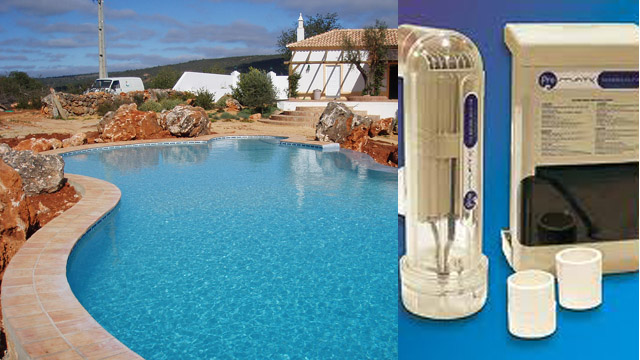 Salt water pool systems by Philip Dalston Algarve Property Services