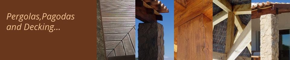 Pergolas,Pagodas and decking